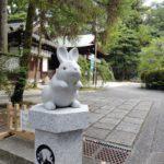 岡崎神社で兎探し
